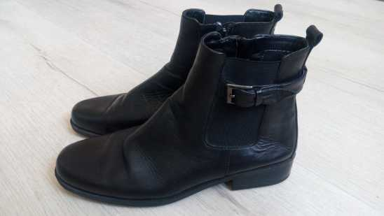 38 Кожа! Женские демисезонные ботинки