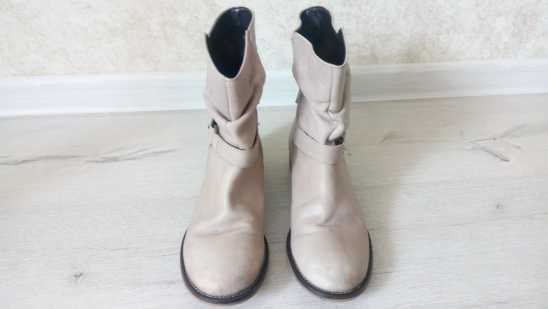 37-38 (24 см) Next (Некст) Кожаные демисезонные ботинки