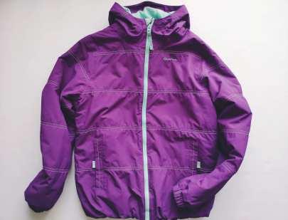 14 лет, рост 153-162 Теплая демисезонная курточка для девочки