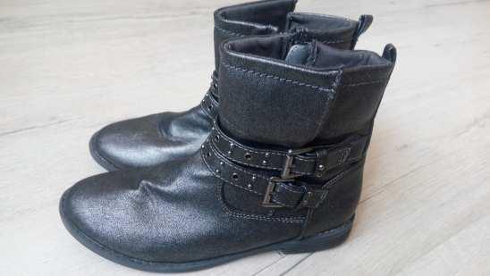 34 (22 см) Демисезоннве ботинки для девочки
