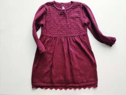 2 года, рост 92 Теплое платье девочке