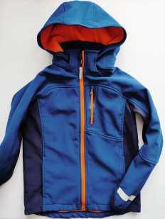 9\10 лет, рост 140 Демисезонная курточка для мальчика Ветровка