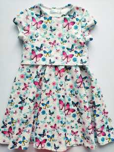 5\6 лет, рост 116 Платье девочке