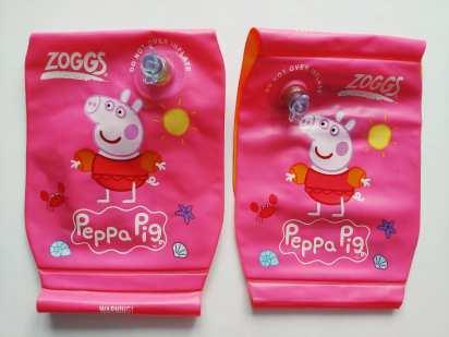 Zoggs 2-6 лет (15-30 кг) НОВЫЕ Нарукавники со Свинкой Пеппой Peppa Pig