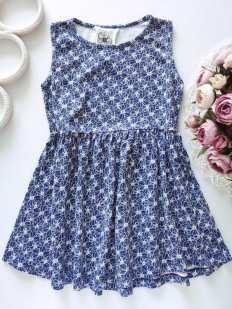 5-6 лет, рост 116 Платье для девочки