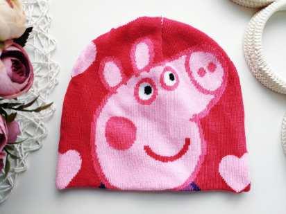 Шапка для девочки Свинка Пеппа