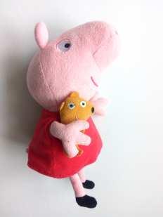 Оригинал! Свинка Пеппа мягкая игрушка