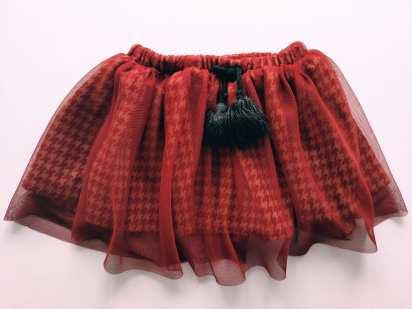2\3 года, рост 92-98 Теплая юбка для девочки