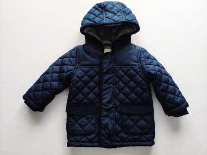 9\12 мес, рост 74,80 Теплая демисезонная курточка для мальчика