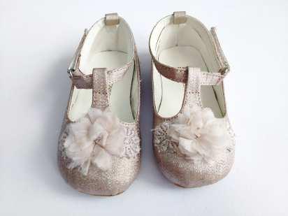22 (13,8 см) Нарядные детские туфли