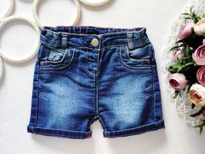 12\18 мес, рост 86 Детскиие джинсовые шорты