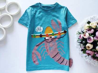 5\6 лет, рост 116 Детская футболка
