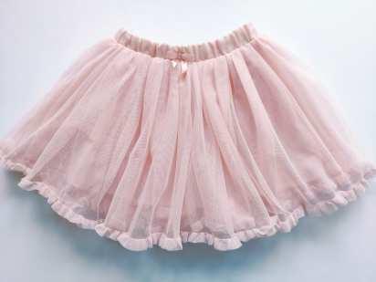 5-6 лет рост 116 Пышная фатиновая детская юбка