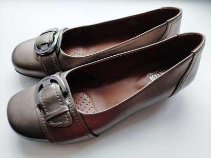 38,5 (25,5 см) Кожаные женские туфли