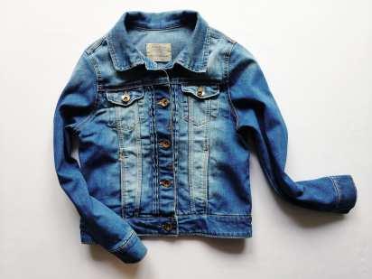 9-10 лет, рост 140 Брендовая детская джинсовка
