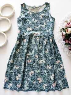 6-8 лет, рост 122-128 Летнее детское платье