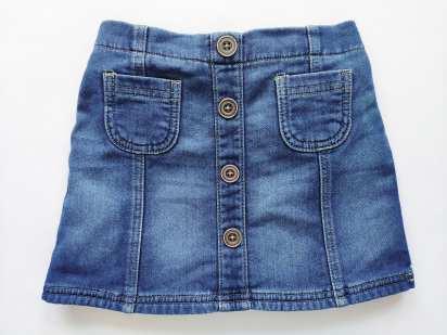 2,3 года, рост 98 Детская юбка под джинс, на резинке
