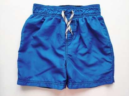 7-8 лет, рост 122-128 Синие шорты для мальчика