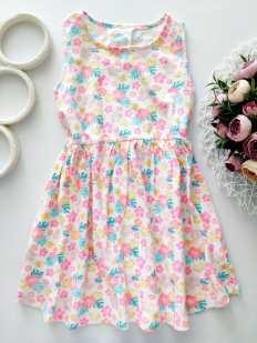 5-6 лет, рост 116 Платье летнее для девочки