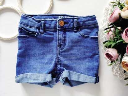 3 года, рост 98 Стрейчевые джинсовые шорты для девочки