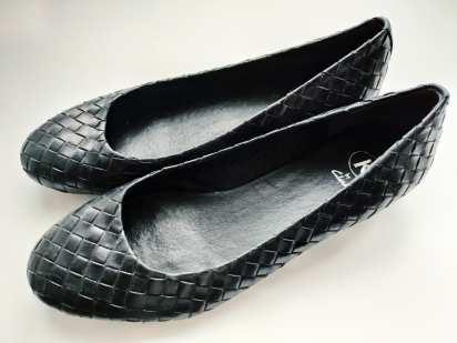 39-40 (26 см) Кожаные женские туфли на низком ходу