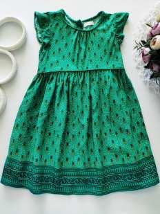 2,3 года, рост 98 Легкое летнее платье для девочки