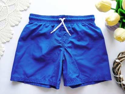 4-6 лет, рост 110 Синие шорты для мальчика