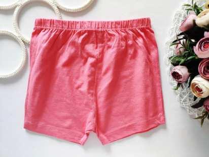 5,6 лет, рост 116 Розовые хлопковые шорты