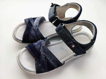 26-27 (16,8 см) Легкие кожаные сандали для девочки
