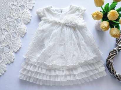 12 мес, рост 86 Нежное детское платье