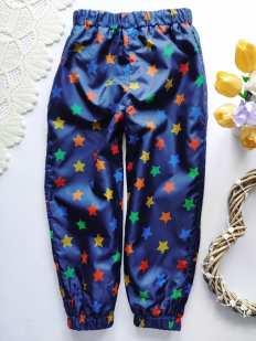 4-5 лет, рост 104-110 Демисезонные штаны для мальчика
