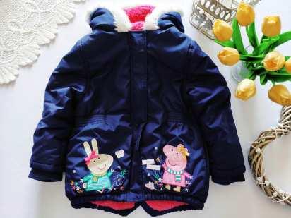 2,3 года, рост 92,98 Теплая курточка Свинка Пеппа