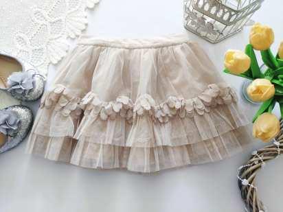 3,4 года, рост 98,104 Фатиновая детская юбка