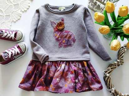 3 года Теплое детское платье