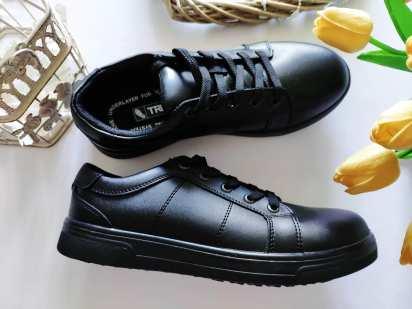 39 (26 см) Новые кожаные деми туфли-ботинки