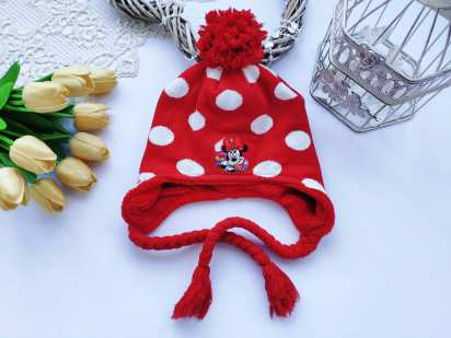 Зимняя шапка Микки