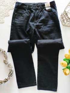13-14 лет, рост 158-164 Новые черные джинсы для мальчика