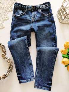 9,10 лет, рост 140 Стрейчевые джинсы для мальчика