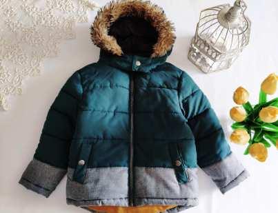 4 года, рост 104 Теплая демисезонная курточка для мальчика