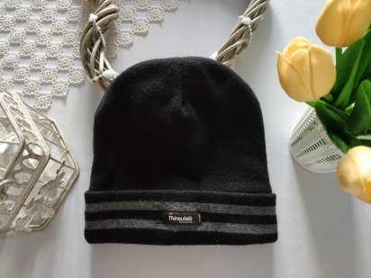 Зимняя шапка для мальчика на флисе