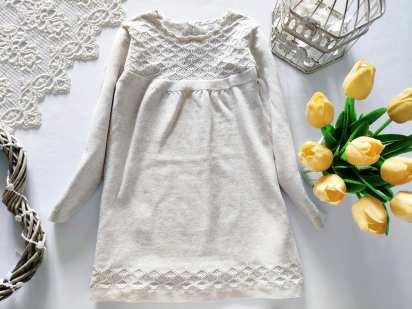 2,3 года, рост 98 Теплое детскок платье