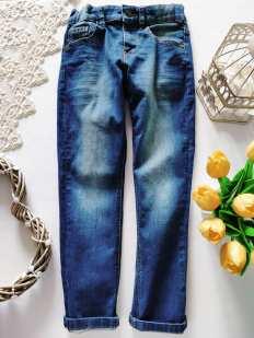 6,7 лет, рост 122 Стрейчевые джинсы