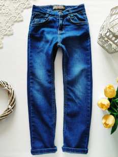 5,6 лет, рост 116 Стрейчевые джинсы для мальчика
