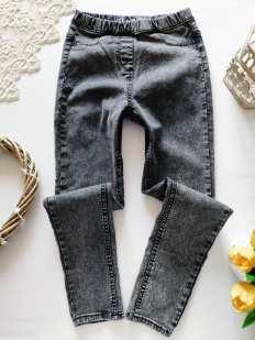 10 лет, рост 140 Стрейчевые джинсы узкачи для девочки