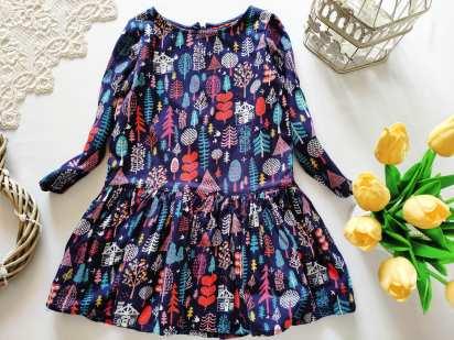 2,3 года, рост 98 Платье для девочки