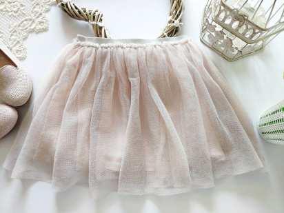 5,6 лет, рост 110,116 Блестящая фатиновая юбка