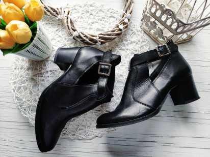 38 (25,5 см) Женские кожаные туфли-ботинки