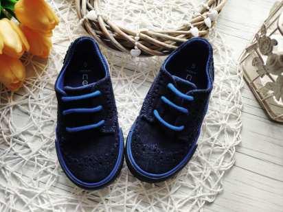 22 (14 см) Замшевые туфли- кеды для модника