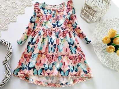 4,5 лет, рост 110 Новое хлопковое платье