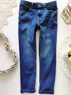 6-7 лет, рост 116-122 Стрейчевые джинсы узкачи для мальчика